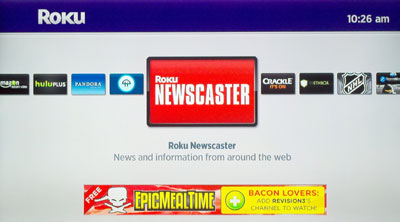 Roku Newscaster Channel