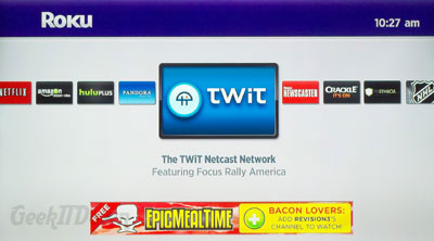 Roku TWiT Channel