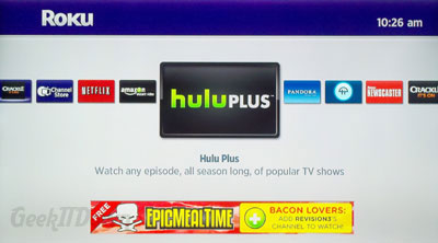 Roku Hulu Plus Channel
