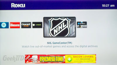 Roku NHL Channel