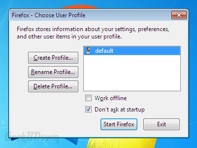 How To Start Using Firefox Profile Manager