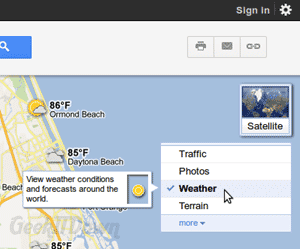 how to delete widgets weather map on computer