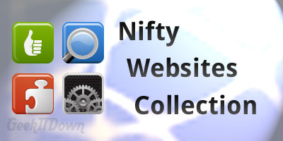 Nifty Websites Collection [October 2-8, 2011]