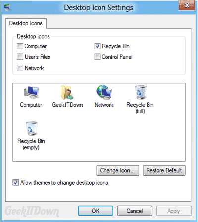 Personalize Desktop Windows 8 2