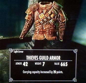 Skyrim Carry More Weight Thief Armor
