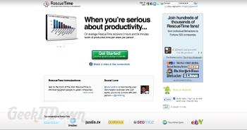 RescueTime: Get Serious About Productivity