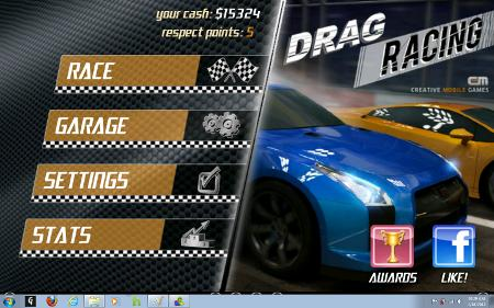 Bluestacks Drag Racing