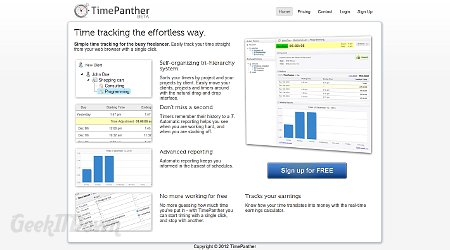 TimePanther Is Time Tracking Software For Freelancers
