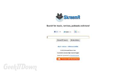 SkreemR Search