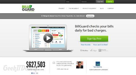 Nifty Websites Collection BillGuard