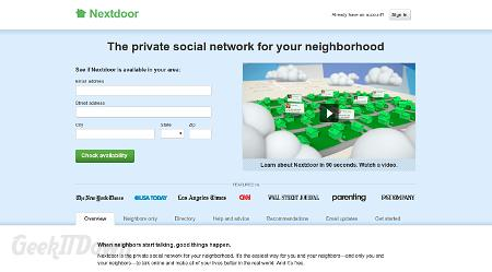 Nifty Websites Collection Nextdoor
