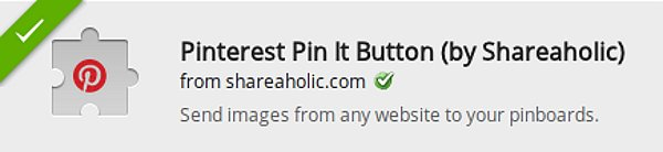 Pinterest Pin It Extension For Chrome