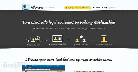 Nifty Websites Collection Intercom