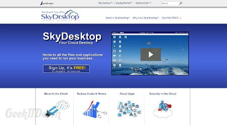SkyDesktop: Your Desktop In The Cloud