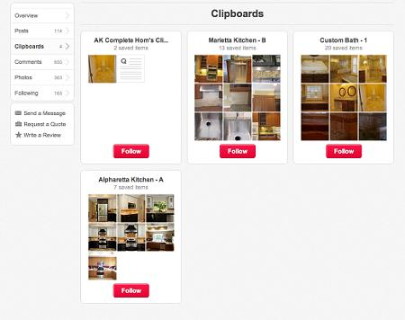 Hometalk Clipboards