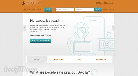 Nifty Websites Collection Dwolla