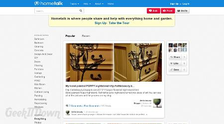 Hometalk - The Social Website For Home Improvement