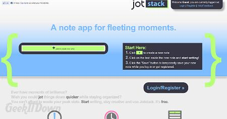 Nifty Websites Collection Jotstack