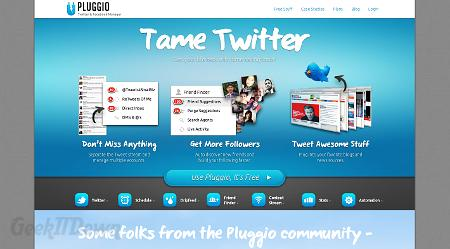 Nifty Websites Collection Pluggio