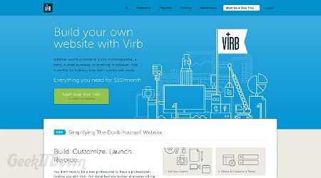 Virb Website Builder Is Seriously Fast And Easy
