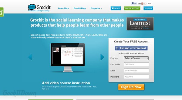 Grockit Test Prep Is A Quality Learning Tool