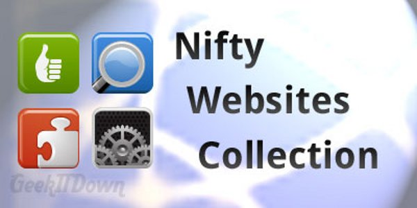 Nifty Websites Collection [October 29, 2012]