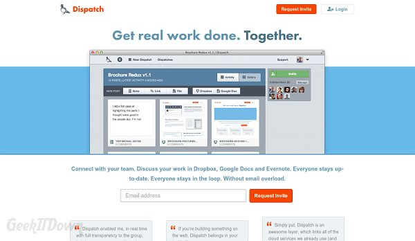 Dispatch Cloud Collaboration Tool Combines Cloud Resources