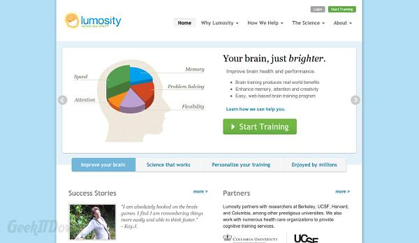 Get Mental With Lumosity Brain Training