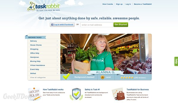 TaskRabbit Is Your Gateway To Some Extra Cash