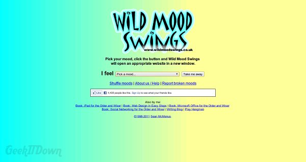 Match Websites To Your Mood