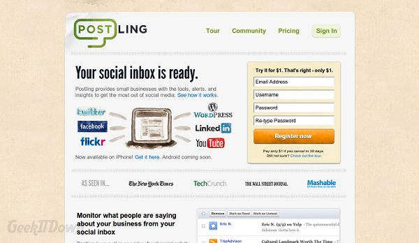 Postling Is Social Media Management For Small Businesses