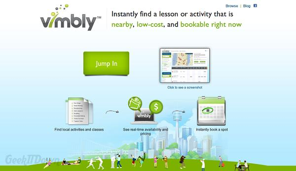 Vimbly Is The Modern Way To Find And Book Activities Online