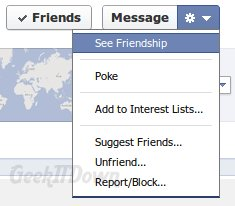 Facebook See Friendship