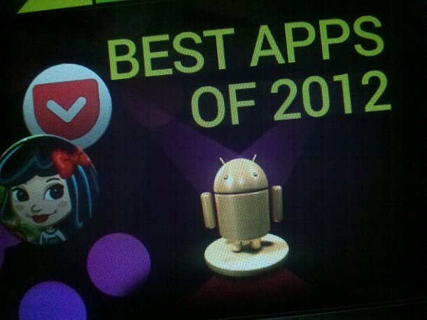 Google Picks Best Apps Of 2012