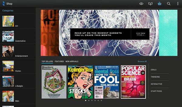 App Roundup: Zinio Is Your Digital Newsstand