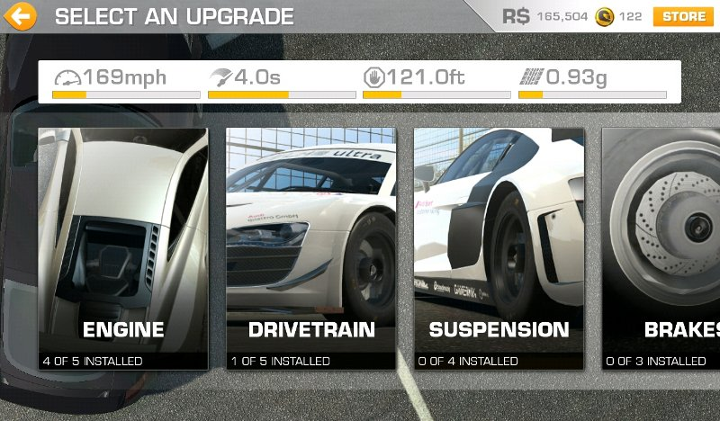 App Roundup Real Racing 3 Upgrades