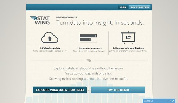 Statwing – Make Your Data Come To Life