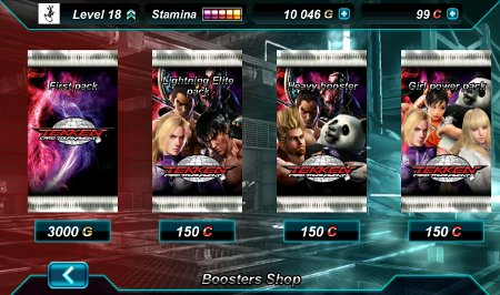 App Roundup Tekken Card Tournament Shop