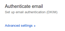 Google Apps - Gmail Advanced Settings
